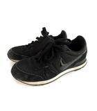 ナイキ NIKE ウィメンズ インターナショナリスト スニーカー シューズ 靴 828407-003 ブラック 黒 24.5