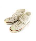 コンバース CONVERSE オールスター ALL STAR キャンバス スニーカー シューズ 靴 M7650 ホワイト 白 24cm ハイカット