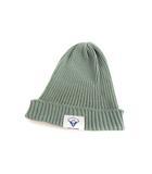 ハイランド HIGHLAND 2000 コットン リブ ニットキャップ ニット帽 ニットワッチ ミント グリーン系 帽子