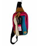 ジムマスター gymmaster ボディバッグ 鞄 カバン スウェット地 メガジップ G239572 マルチカラー