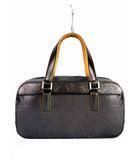 ルイヴィトン LOUIS VUITTON ハンドバッグ バッグ モノグラム マット シェルトン M55172 TH1023 レザー ノワール チャコールグレー系 カバン 鞄