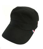 ビームス BEAMS ワークキャップ 帽子 コットン メッシュ トリコロール 無地 ブラック 黒 白 赤 紺