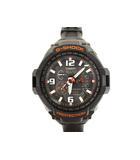 ジーショック G-SHOCK SKYCOCKPIT スカイコックピット 電波ソーラー 腕時計 ウォッチ GW-4000-1AJF 黒 オレンジ