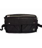 ポーター PORTER ウエストバッグ ヒップバッグ ボディバッグ ワンショルダーバッグ SMOKY スモーキー カバン 鞄 黒 ブラック 鞄 カバン