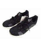 アディダス adidas ランニングシューズ シューズ スニーカー 靴 センスブースト GO Senseboost GO EG0960 黒 白 グレー サイズ26.5 タグ付き