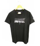 ラコステ LACOSTE スポーツ SPORT トップス Tシャツ 半袖 ロゴ プリント クルーネック TH3474 黒 FR3