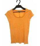 プロポーション ボディドレッシング PROPORTION BODY DRESSING トップス Tシャツ カットソー フレンチスリーブ コットン 無地 オレンジ 3