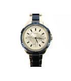ゲス GUESS 腕時計 クォーツ クロノグラフ ウォッチ U0235L6 ステンレス シルバー ブルー