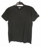 エンポリオアルマーニ EMPORIO ARMANI トップス Tシャツ カットソー プリント ロゴ ストレッチ 丸首 クルーネック 半袖 ブラック 黒 XL