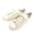 アーメン ARMEN スニーカー シューズ 靴 キャンバス ローカット 白 ホワイト サイズ38