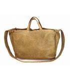 マーヴェレッツ MARVELETS 2Way ショルダーバッグ トートバッグ バッグ レザー 革 ヴィンテージ加工 USED加工 カバン 鞄 ベージュ系