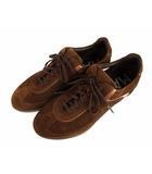 マグナーニ MAGNANNI スニーカー シューズ 靴 スウェード レザー 22534 ブラウン 茶 40