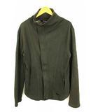 エンポリオアルマーニ EMPORIO ARMANI ジャケット コート 上着 アウター ジップアップ ハイネック チャコールグレー系 L