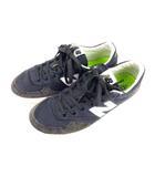 ニューバランス NEW BALANCE ビームス BEAMS スニーカー シューズ 靴 CRT300TM パイル スエード ネイビー グレー系 サイズ27.5