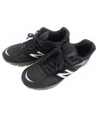 ニューバランス NEW BALANCE スニーカー シューズ 靴 M990BK5 USA製 スエード メッシュ 黒 ブラック サイズ27cm