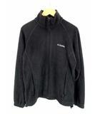 コロンビア Columbia フリース ジャケット ジップアップ 長袖 90年代 90's WL6114 黒 ブラック サイズXS ヴィンテージ ビンテージ