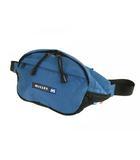 ミレー MILLET ボディバッグ ウエストバッグ 斜め掛け かばん 鞄 ロゴ 刺繍 ブルー 黒