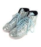 ナイキ NIKE WMNS BLAZER MID QS ブレザー ミッド ハイカット スニーカー シューズ 靴 637990-001 ブルー系 24cm