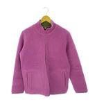 ユニクロ UNIQLO ジップアップ フリースジャケット アウター 上着 パープル ピンク 紫 XL