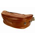 アニアリ aniary ウエストバッグ ボディバッグ レザー 革 カバン 鞄 ブラウン 茶