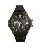 G-STEEL ジースチール 腕時計 ウォッチ タフソーラー クロノグラフ Bluetooth搭載 GST-B100X-1AJF 黒 ブラック