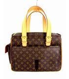 ルイヴィトン LOUIS VUITTON ショルダーバッグ ハンドバッグ モノグラム ミュルティプリ シテ M51162 MB0034 PVC レザー ブラウン 茶 カバン 鞄