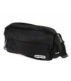 アウトドアプロダクツ OUTDOOR PRODUCTS ウエストポーチ ボディバッグ カバン 鞄 ロゴパッチ ブラック 黒