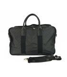ゲラルディーニ GHERARDINI ソフティ 2way ボストンバッグ ハンドバッグ ショルダーバッグ かばん 鞄 ロゴ 総柄 レザー 牛革 黒 ブラック