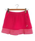 バボラ BabolaT テニスウェア ボトムス スコート ロゴ ワンポイント ボーダー ピンク系 0