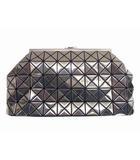 バオバオ イッセイミヤケ BAOBAO ISSEY MIYAKE クラッチバッグ セカンドバッグ がま口 プラチナム BB41-AG102 チャコールグレー系 鞄 カバン
