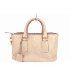セリーヌ CELINE ハンドバッグ レザー 革 ニューブギーバッグ カバン 鞄 ベージュ系