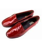 ジーエイチバス G.H.Bass & Co. ウィージャンズ Weejuns ペニーローファー コインローファー 革 靴 レザー シューズ エナメル BA94010 ブラウン 茶 サイズUS7