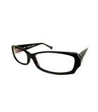 アランミクリ alain mikli 伊達メガネ メガネフレーム アイウェア 眼鏡 AL0822 0001 黒 ブラック