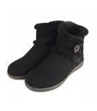 コロンビア Columbia ベアフットマウンテン2 ウォータープルーフ ショート ブーツ ボア YL1017-012 黒 ブラック 25cm