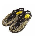 キーン KEEN サンダル シューズ 靴 1014624 ブラック ベージュ系 25cm