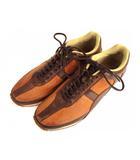 ホーキンス Hawkins スニーカー シューズ 靴 レザー GT-8922 ブラウン 茶 7h
