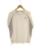 アディダス adidas トップス カットソー Tシャツ スポーツウェア  半袖 ロゴ ホワイト O