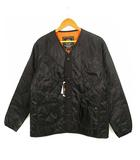 アルファ ALPHA インダストリーズ INDUSTRIES キルト ライナー ジャケット 中綿 上着 TA1256-001 黒 ブラック L