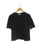 アニエスベー agnes b. トップス カットソー Tシャツ 半袖 コットン ネイビー 紺 1