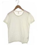 プリット prit トップス カットソー Tシャツ 半袖 無地 コットン 白 ホワイト 1