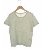 プリット prit トップス カットソー Tシャツ 半袖 コットン 杢グレー ライトグレー系 1