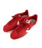 ナイキ NIKE CLASSIC CORTEZ NYLON クラシック コルテッツ ナイロン スニーカー ローカット シューズ 靴 807472-611 赤 白 26cm