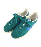 ナイキ NIKE CLASSIC CORTEZ NYLON クラシック コルテッツ ナイロン スニーカー シューズ 靴 ローカット 807472341 グリーン ブルー 緑 青 26cm