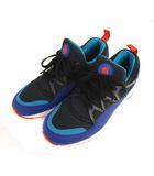 ナイキ NIKE AIR HUARACHE LIGHT エア ハラチ ライト スニーカー シューズ 靴 306127-480 黒 ブラック 青 ブルー 26cm