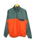パタゴニア Patagonia Houdini Snap -T Pullover プルオーバー ナイロンジャケット 上着 24150 グリーン オレンジ M