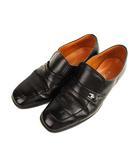 プレジデント PRESIDENT 革靴 ビジネスシューズ スクエアトゥ レザー 黒 ブラック 25 1/2EE
