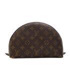 モノグラム トゥルース ドゥミロンド 鞄 かばん バッグ ポーチ 化粧 コスメ 総柄 半円 M47520 ブラウン 茶