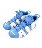 スニーカー シューズ 靴 AIR MORE UPTEMPO ´96 エアモアアップテンポ モアテン 921948-401 白 青 ホワイト ブルー サイズ28.5cm