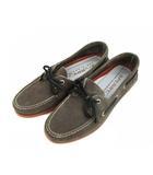 スペリー SPERRY トップサイダー TOP SIDER デッキシューズ 靴 スウェード レザー 0837179 ダークブラウン系 9.5M