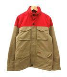 リーバイス Levi's M-65 フィールド ジャケット 中綿 バイカラー 裏地キルティング コットン S ベージュ 赤 レッド R11364